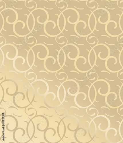 Seamless decorative wallpaper