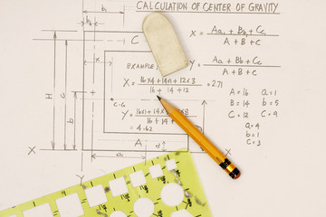 Center of Gravity Calculation