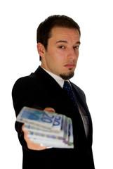corruption money concept