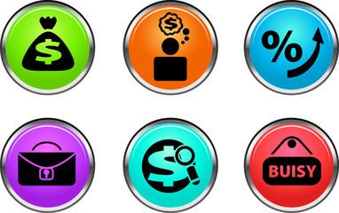 Business buttons