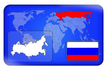 3D-Button - Russland