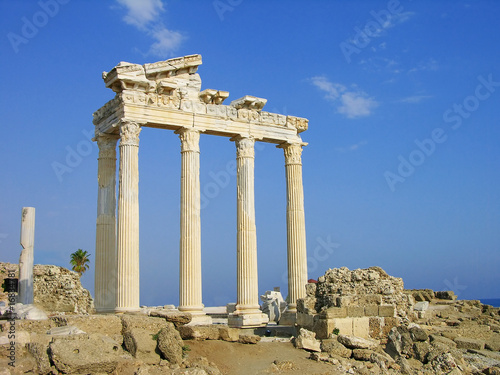 Temple of Apollo, Side, Turkey