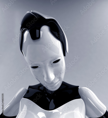 Robotic girl