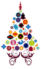 christmas tree#1
