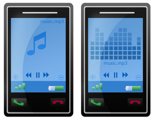 mobile phone mp3 player