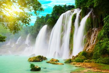 Wodospad Detian