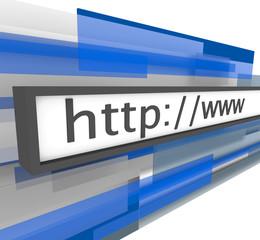 Website Address Bar - http and www