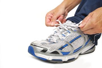 tie the shoe