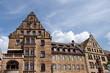 Maisons anciennes en pierre, Allemagne.