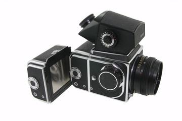 Old film camera from USSR