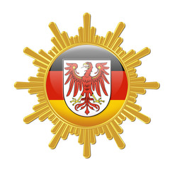 wappen bundesland brandenburg bundesrepublik