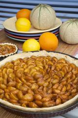 tarte aux fruits et fruits