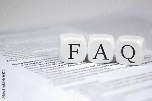 FAQ in Würfeln - 16866711