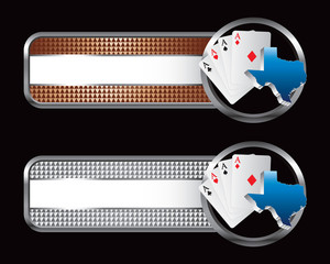 Texas hold em specialized banners