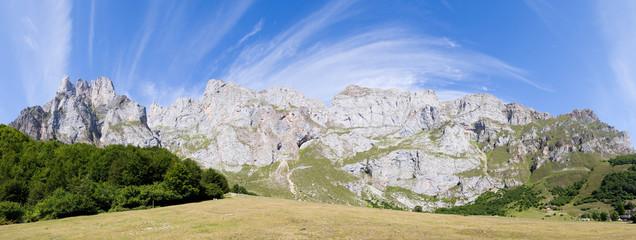 Panoramica de Fuente De, Cantanbria (España)