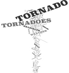 Tornadoes word cloud