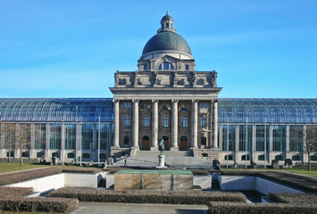 bayerische staatskanzlei und gedenkstätte