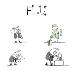 Grippe h1n1 - comment se comporter en entreprise (b)
