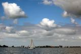 Sailing recreation poster
