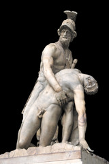 Statue of Menelaus and Patroclus