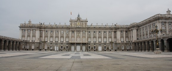 palacio (palace) real in madrid
