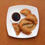 Fried Pot Stickers (Gyoza)