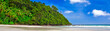 Tropical beach panoramic