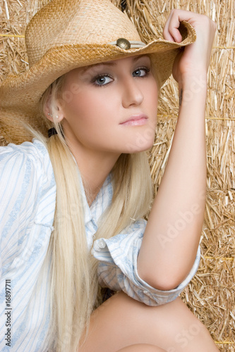 Blond Country Woman