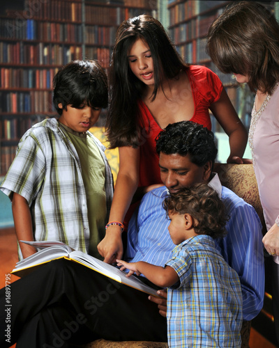 Family in a Book