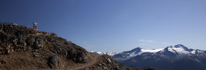 An Inukshuk on Whistler