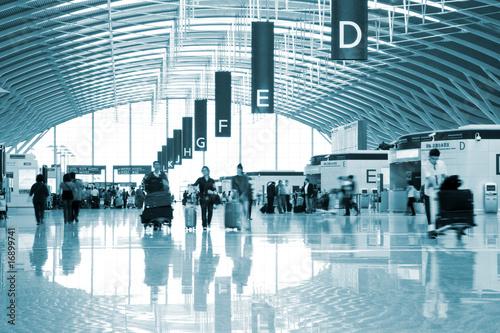 Plexiglas Luchthaven passenger