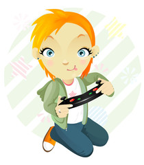 Gamegirl. Tomboy.