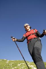 Sportlich Aktiv beim Nordic Walking