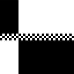 80s Ska 2 Tone Checkerboard