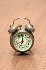 Small Metal Alarm Clock