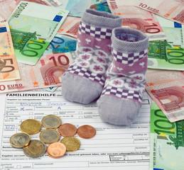 Antrag auf Familienbeihilfe in Österreich