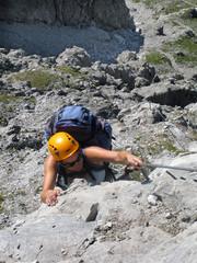 in der Felswand - in the rockywall