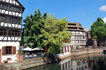 Dans la Petite France de Colmar