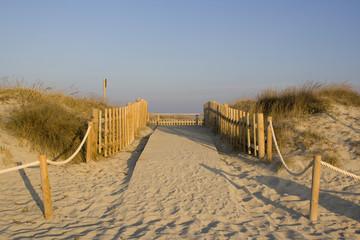entrada playa