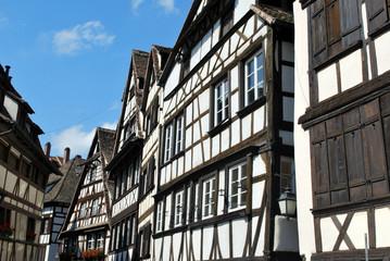 Maisons blanches à Strasbourg