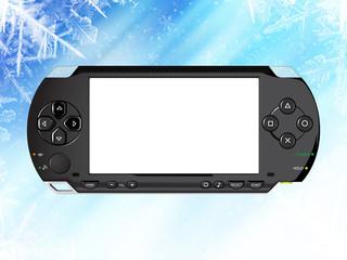 snowing frame, handheld