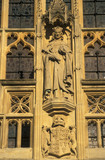 Religious Statue On Bath Abbey