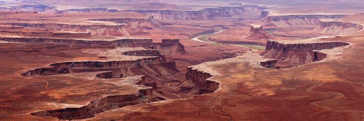 Panorama view at Canyonland National Park