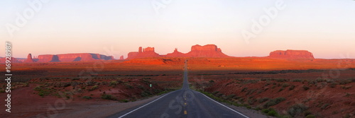 Monument Valley at morning during sunrise - 16928987