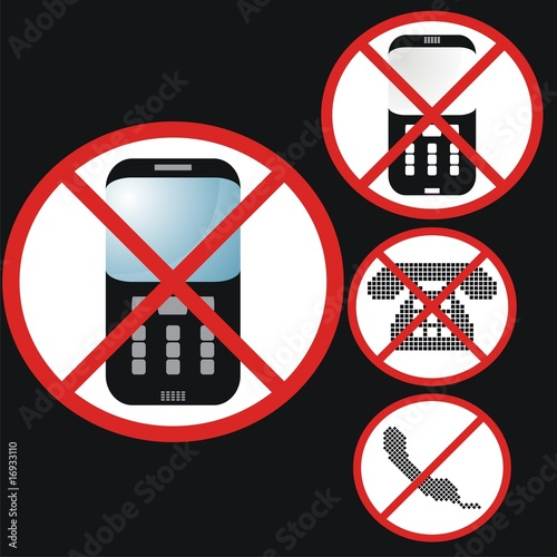 No phones set