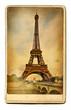 european landmarks vintage cards - Paris