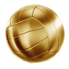 Volleyball in gold