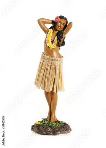 Hawaiian Hula Doll