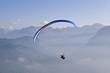 Paraglider-Alpen