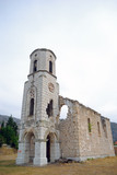 Church ruins, Blagaj, Bosnia-Herzegovina poster